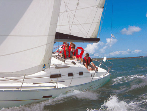 The French Connection on a Sailing Charter